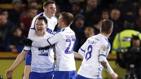 Tranmere Rovers bidding to hand Spurs rare FA Cup third round exit