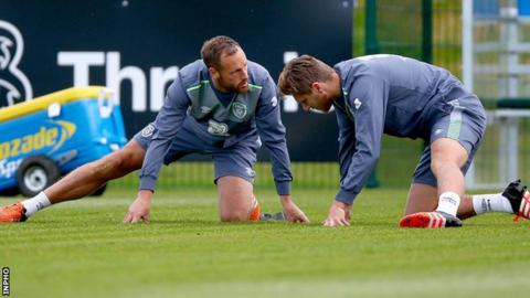 David Meyler hopes to a competitive match in central midfield for the first time for the Republic of Ireland against Germany