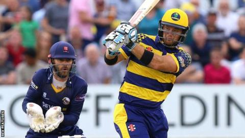 Glamorgan's Colin Ingram