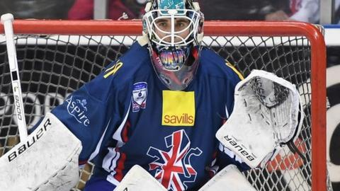 Stephen Murphy is aiming for promotion to ice hockey's top division in the Belfast tournament