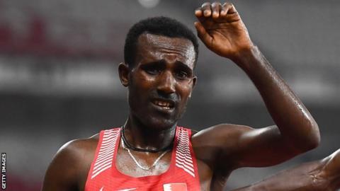 Birhanu Balew won the 5,000m at last year's Asian Games