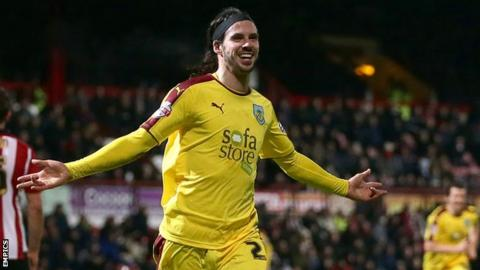 Burnley goalscorer George Boyd