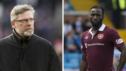 Hearts manager Craig Levein left 'embarrassed' by Isma Goncalves racist abuse