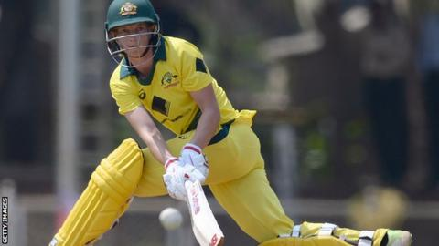 World record secures Aussies tri-series title