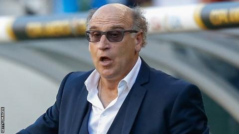 French coach Patrice Neveu