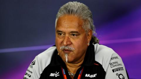 Vijay Mallya steps down as a director at Force India