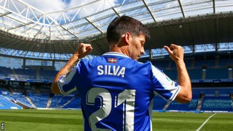 Ex-Man City midfielder Silva tests positive for coronavirus thumbnail