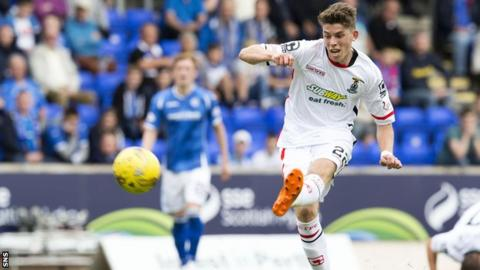 Ryan Christie in action for Inverness against St Johnstone