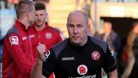 Former Lincoln City and Hull City defender Jon Whitney was first appointed as physiotherapist at Walsall in 20003