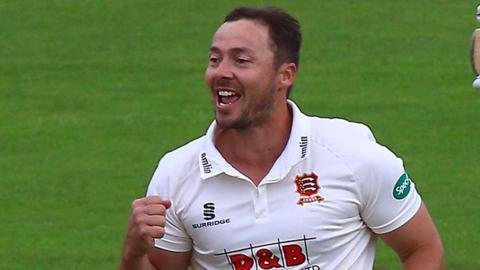 Essex all-rounder Graham Napier