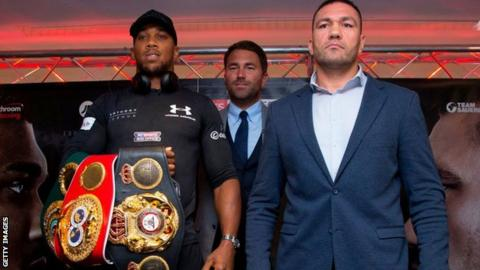 Joshua to defend IBF title against Pulev in June