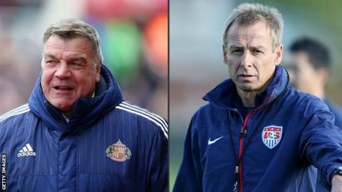 Sam Allardyce and Jurgen Klinsmann