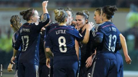 Scotland beat Belarus 7-0 at Fir Park