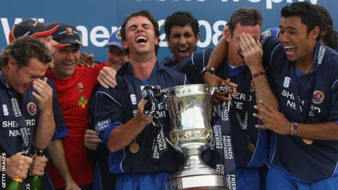 Essex win the 2008 Friends Provident Trophy