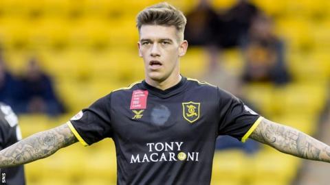 Livingston midfielder Josh Mullin