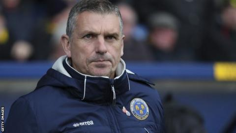 John Askey won just four of his 17 league games as Shrewsbury Town manager