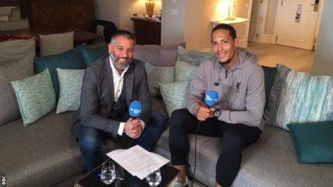Van Dijk wants to be a 'legend of Liverpool'