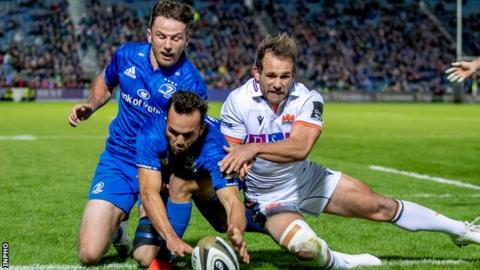 Leinster scored six tries in another commanding performance at the RDS Arena