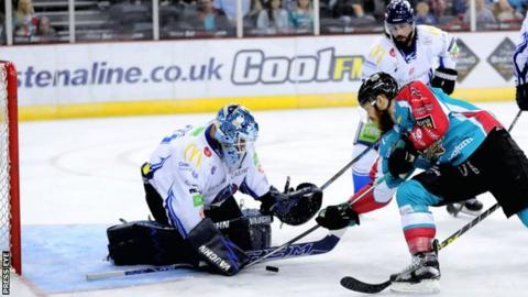 The Belfast Giants gained speedy revenge over the Coventry Blaze