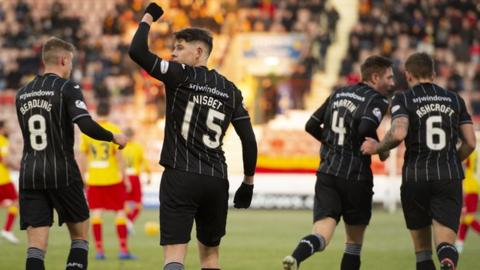 Kevin Nisbet: From Partick Thistle reject to Dunfermline Athletic's Championship star