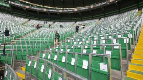 West Brom wanted to install the type of rail seating already used at Celtic FC