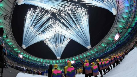 Rio Olympic Games opening ceremony