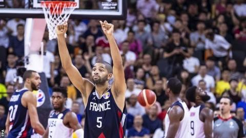 Basketball World Cup: USA beaten by France in quarter-finals
