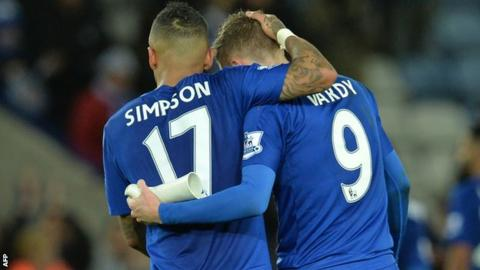 Jamie Vardy, Danny Simpson