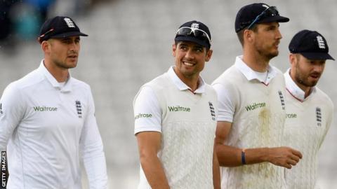 England Test captain Alastair Cook