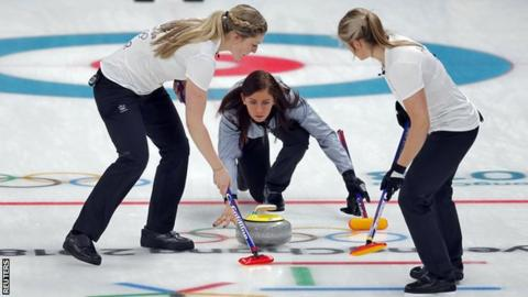 Great Britain women lose curling semi finals to Sweden