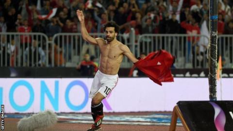 Mohamed Salah: Egypt forward scores last-minute victor  against Tunisia