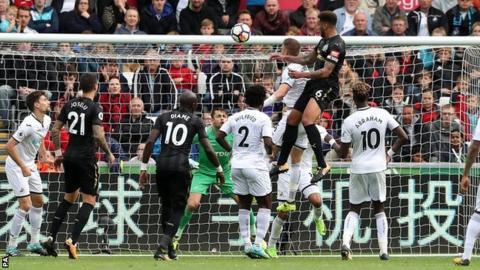 Newcastle goal