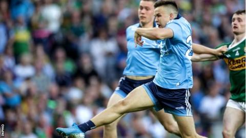 Eoin Murchan blasted in Dublin's crucial goal in the Croke Park replay