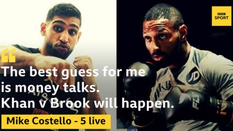 Kell Brook: Fight talk has all been simply an Amir con