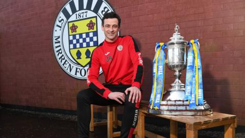 St Mirren boss Jack Ross