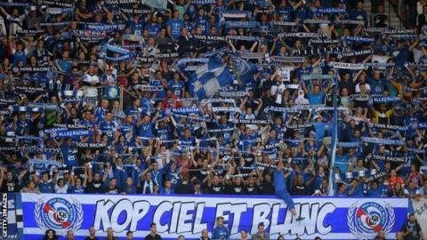 Strasbourg fans