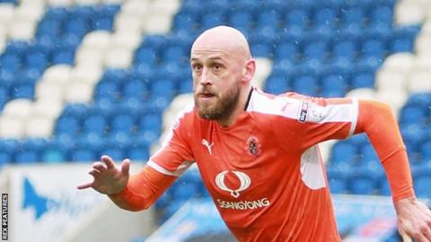 Scott Cuthbert made 25 appearances for Luton Town as they won promotion from League Two this season