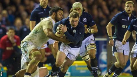 Scotland v England in the Six Nations