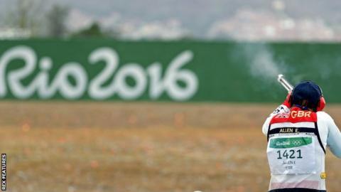 Elena Allen in action in Rio