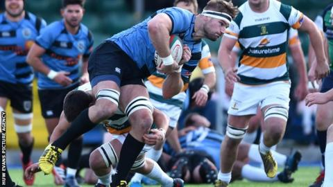 Miles Normadale signed for Cardiff Blues from Cardiff Met in 2013, playing 10 times in the Pro14 and Anglo-Welsh Cup over the next two years