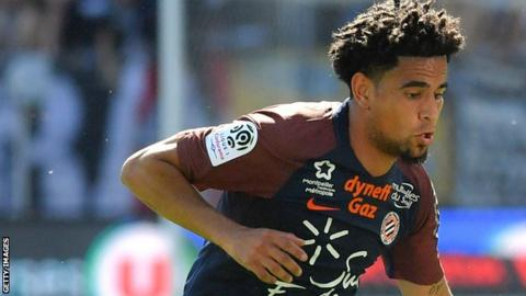 South Africa and Montpellier's Keagan Dolly