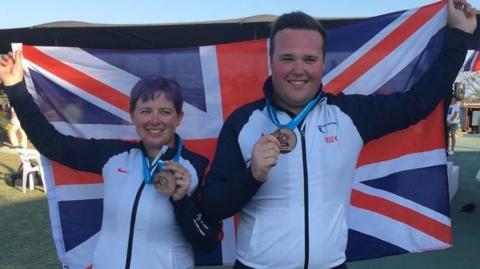 Matt Coward-Holley and Kirsty Barr