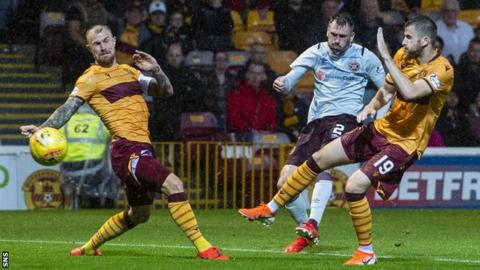 Michael Smith opened the scoring for Hearts