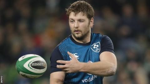 Iain Henderson toured New Zealand with the British and Irish Lions in 2017