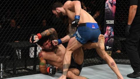 Paul Craig beat Vinicius Moreira in September