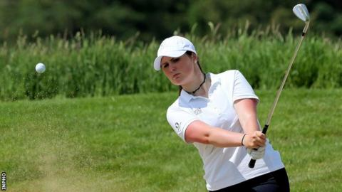 Olivia Mehaffey is in a tie for 96th going into the second round at Shoal Creek