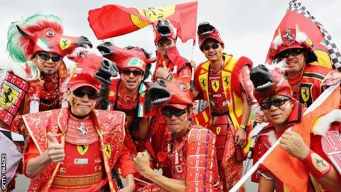 Japanese Grand Prix fans