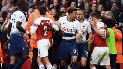 Arsenal and Tottenham charged