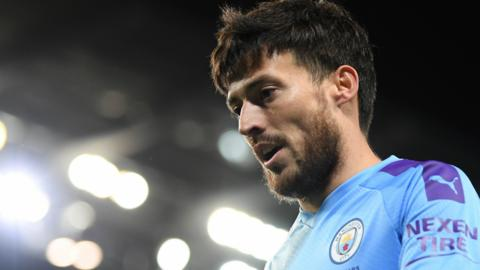 Manchester City midfielder David Silva