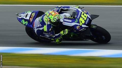 MotoGP: Nine-time world champion Valentino Rossi wins in Spain - BBC Sport